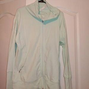 Great condition mint green Lululemon jacket